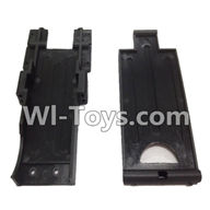 Wltoys L979 L222 parts-Rear Baseboard,WLtoys L979 1:18 rc Drift Car Spare Parts desert Off Road Buggy parts