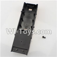 Wltoys L979 L222 parts-Vehicle Bottom frame,WLtoys L979 1:18 rc Drift Car Spare Parts desert Off Road Buggy parts