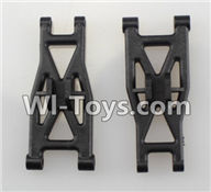 Wltoys L979 L222 parts-Front Lower Suspension Arm(2pcs),WLtoys L979 1:18 rc Drift Car Spare Parts desert Off Road Buggy parts