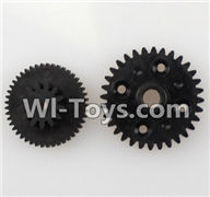 Wltoys L979 L222 parts-Rear gear box Reducers,Speed Reduction Gear,WLtoys L979 1:18 rc Drift Car Spare Parts desert Off Road Buggy parts