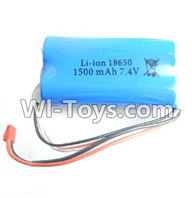 Wltoys L979 parts-Upgrade Battery,Wltoys L979 Battery 1500mAh 7.4v Red JST Plug Battery(Can only be Used for L979)