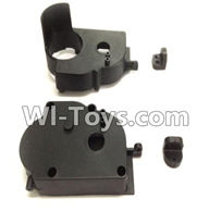 Wltoys L979 L222 parts-Rear Gear Box,WLtoys L979 1:18 rc Drift Car Spare Parts desert Off Road Buggy parts
