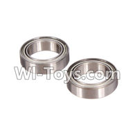 Wltoys L979 L222 parts-Ball bearing,Roller Bearings10X15X4mm(2pcs),WLtoys L979 1:18 rc Drift Car Spare Parts desert Off Road Buggy parts