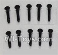Wltoys L979 L222 parts-Socket Head Screw Set 2.6x12mm(10pcs),WLtoys L979 1:18 rc Drift Car Spare Parts desert Off Road Buggy parts
