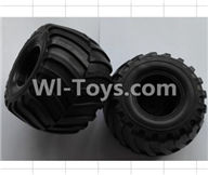 Wltoys P949 Parts-01-02 P949-01 Front Wheel unit(2pcs),Wltoys P949 RC Tractor Car Spare Parts Replacement Accessories,1:10 Scale 4wd P949 RC Tractor Truck parts,RC Tractor Racing car Parts