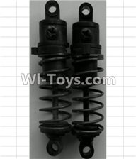 Wltoys P949 Parts-07-02 P949-07 Front Shock Absorber(2pcs),Wltoys P949 RC Tractor Car Spare Parts Replacement Accessories,1:10 Scale 4wd P949 RC Tractor Truck parts,RC Tractor Racing car Parts