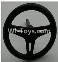 Wltoys P949 Parts-41 P949-41 Steering wheel,Wltoys P949 RC Tractor Car Spare Parts Replacement Accessories,1:10 Scale 4wd P949 RC Tractor Truck parts,RC Tractor Racing car Parts