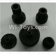 Wltoys P959 Parts-P949-04 Transmission gears,Wltoys P959 RC Truck Car Spare Parts Replacement Accessories,1:10 Scale 4wd P959 RC Truck parts,RC Tractor Racing car Parts