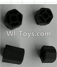 Wltoys P959 Parts-P949-20 Hexagonal round seat(4pcs),Wltoys P959 RC Truck Car Spare Parts Replacement Accessories,1:10 Scale 4wd P959 RC Truck parts,RC Tractor Racing car Parts
