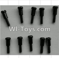 Wltoys P959 Parts-P949-36 Step Head self-tapping Screws(10pcs)-M3X14,Wltoys P959 RC Truck Car Spare Parts Replacement Accessories,1:10 Scale 4wd P959 RC Truck parts,RC Tractor Racing car Parts