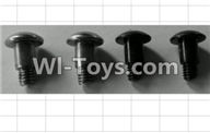 Wltoys P959 Parts-P949-37 Step Head Machine Screws(4pcs)-M4X10,Wltoys P959 RC Truck Car Spare Parts Replacement Accessories,1:10 Scale 4wd P959 RC Truck parts,RC Tractor Racing car Parts