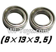 XinleHong Toys 9116 Parts-Bearing- 8x13x3.5mm-2pcs Parts-WJ10,XinleHong Toys 9116 RC Monster Truck Spare parts