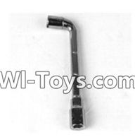 XinleHong Toys 9116 Parts-Hex Screw nut wrench Parts-WJ12,XinleHong Toys 9116 RC Monster Truck Spare parts