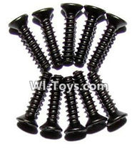 XinleHong Toys 9116 Parts-Screws-Countersunk head screws(M2.3x10)-10PCS Parts-LS05,XinleHong Toys 9116 RC Monster Truck Spare parts