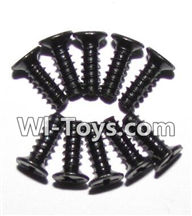 XinleHong Toys 9116 Parts-Screws-Round head screws(M2.6x7)-10PCS Parts-LS09,XinleHong Toys 9116 RC Monster Truck Spare parts