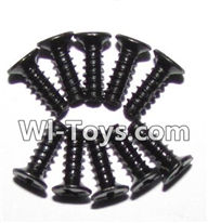 XinleHong Toys 9116 Parts-Screws-Round head screws(M2.6x8)-10PCS Parts-LS10,XinleHong Toys 9116 RC Monster Truck Spare parts
