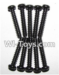 XinleHong Toys 9116 Parts-Screws-Round head screws(M2.6x20)-10PCS Parts-LS12,XinleHong Toys 9116 RC Monster Truck Spare parts