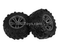 XinLeHong Toys 9138 Parts-Whole wheel unit(2pcs)-QZJ02,XinLeHong Toys 9138 RC Car Parts