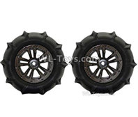 XinLeHong Toys 9138 Parts-Anti-sand RC Wheel Tires-85mm-2 set-QZJ02,XinLeHong Toys 9138 RC Car Parts