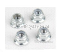 XinLeHong Toys 9138 Parts-Anti loose nut(4pcs)-WJ08,XinLeHong Toys 9138 RC Car Parts