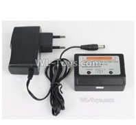 XinLeHong Toys 9138 Parts-DJ03 Official Charger and Balance charger,XinLeHong Toys 9138 RC Car Parts