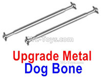 Hosim 9135 Parts-Upgrade Metal Drive shaft,Dog Bone(2pcs)-QWJ03,Hosim 9135 RC Car Parts