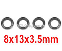 Hosim 9156 Parts-Bearing(4pcs)-8X13X3.5mm-WJ10,Hosim 9156 RC Car Parts