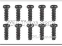 Hosim 9135 Parts-Round head screw(10pcs)-2.6X10PBHO-Q901-Q902-Q903-LS01,Hosim 9135 RC Car Parts