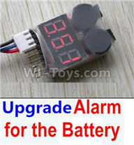 Hosim 9136 Parts-Upgrade Alarm for the Battery,Can test whether your battery has enouth power,Hosim 9136 RC Car Parts