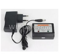 Hosim 9136 Parts-DJ03 Official Charger and Balance charger,Hosim 9136 RC Car Parts