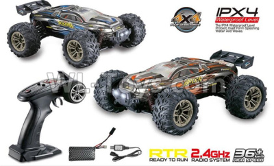 Hosim 9136 RC Car,1/16 Scale Rc Monster Bigfoot Truck 38km/h Buggy 4x4 Free Sample Rc Car Electric Off-road Hot Sale