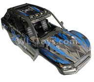 XinLeHong Toys 9137 Parts-Body Shell Cover Parts-Blue-SJ02,XinLeHong Toys 9137 Parts-Parts