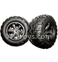 XinleHong Toys 9115 Parts-The Left and Right Wheel(Total 2pcs) Parts-ZJ01,XinleHong 9115 RC Truck Buggy Parts