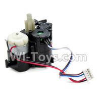 XinleHong Toys 9115 Parts-The Front Steering Servo Parts-ZJ04,XinleHong 9115 RC Truck Buggy Parts