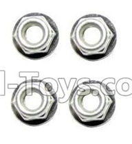 XinleHong Toys 9115 Parts-Anti-loose Screw nut(4pcs) Parts-WJ02,XinleHong 9115 RC Truck Buggy Parts