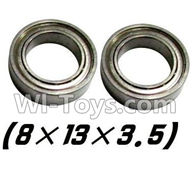 XinleHong Toys 9115 Parts-Bearing- 8x13x3.5mm-2pcs Parts-WJ10,XinleHong 9115 RC Truck Buggy Parts