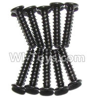XinleHong Toys 9115 Parts-screws-Countersunk head screws(M2x10)-10PCS Parts-LS02,XinleHong 9115 RC Truck Buggy Parts