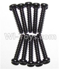 XinleHong Toys 9115 Parts-Screws-Round head screws(M2.3x12)-10PCS Parts-LS07,XinleHong 9115 RC Truck Buggy Parts