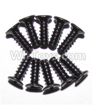 XinleHong Toys 9115 Parts-Screws-Round head screws(M2.6x7)-10PCS Parts-LS09,XinleHong 9115 RC Truck Buggy Parts