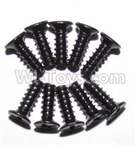 XinleHong Toys 9115 Parts-Screws-Round head screws(M2.6x8)-10PCS Parts-LS10,XinleHong 9115 RC Truck Buggy Parts