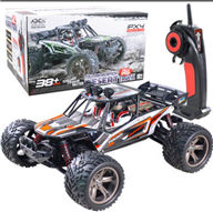 XinleHong Toys 9123 RC Car,JYRC 9123 RC monster Truck,High speed 1/12 1:12 Full-scale rc racing car,Shockproof-Orange XinLeHong-Toys-Car-All