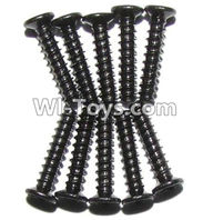 XinleHong Toys 9120 Parts-LS02 Countersunk head screws(M2x10)-10PCS,JYRC XinleHong Toys 9120 Racing Sprint RC Monster Truck Spare parts Accessories,9120 1:12 4WD Brush High Speed Buggy Parts