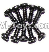 XinleHong Toys 9120 Parts-LS04 Countersunk head screws(M2.3x6)-10PCS,JYRC XinleHong Toys 9120 Racing Sprint RC Monster Truck Spare parts Accessories,9120 1:12 4WD Brush High Speed Buggy Parts
