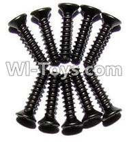 XinleHong Toys 9120 Parts-LS05 Countersunk head screws(M2.3x10)-10PCS,JYRC XinleHong Toys 9120 Racing Sprint RC Monster Truck Spare parts Accessories,9120 1:12 4WD Brush High Speed Buggy Parts