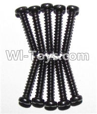 XinleHong Toys 9120 Parts-LS07 Round head screws(M2.3x12)-10PCS,JYRC XinleHong Toys 9120 Racing Sprint RC Monster Truck Spare parts Accessories,9120 1:12 4WD Brush High Speed Buggy Parts