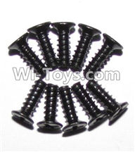XinleHong Toys 9120 Parts-LS09 Round head screws(M2.6x7)-10PCS,JYRC XinleHong Toys 9120 Racing Sprint RC Monster Truck Spare parts Accessories,9120 1:12 4WD Brush High Speed Buggy Parts