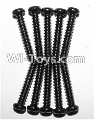 XinleHong Toys 9120 Parts-LS11 Round head screws(M2.6x15)-10PCS,JYRC XinleHong Toys 9120 Racing Sprint RC Monster Truck Spare parts Accessories,9120 1:12 4WD Brush High Speed Buggy Parts