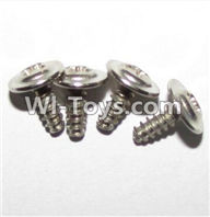 XinleHong Toys 9120 Parts-LS15 Round head screws with meson(M3x8x8)-4PCS,JYRC XinleHong Toys 9120 Racing Sprint RC Monster Truck Spare parts Accessories,9120 1:12 4WD Brush High Speed Buggy Parts