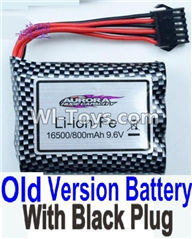XinleHong Toys S913 9123 Old version 9.6V 800MAH Battery with Black plug,JYRC XinleHong Toys S913 9123 RC Monster Truck Spare parts Accessories,S913 9123 1:12 4WD Brush High Speed Buggy Parts