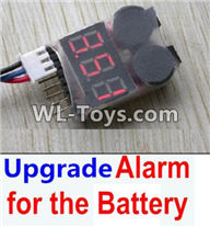 Hosim 9125 Parts-Upgrade Alarm for the Battery,Can test whether your battery has enouth power Parts-,1/12 Hosim 9125 RC Car Parts